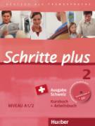 Cover-Bild zu Niebisch, Daniela: Schritte plus 2. A1/2. Ausgabe Schweiz. Kurs- und Arbeitsbuch