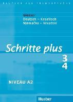 Cover-Bild zu Hilpert, Silke: Schritte plus 3 + 4. A2. Glossar Deutsch-Kroatisch