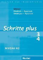 Cover-Bild zu Hilpert, Silke: Schritte plus 3 + 4. A2. Glossar Deutsch-Russisch