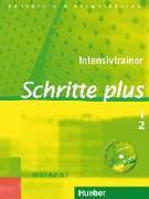 Cover-Bild zu Niebisch, Daniela: Schritte Plus 1+2. A1. Intensivtrainer mit CD