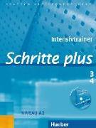 Cover-Bild zu Niebisch, Daniela: Schritte plus 3 + 4. A2. Intensivtrainer