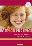 Cover-Bild zu Niebisch, Daniela: Menschen A1. Vokabeltaschenbuch