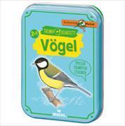 Cover-Bild zu Quartett - Unsere Vögel