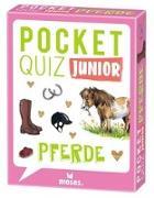 Cover-Bild zu Pocket Quiz junior Pferde von von Kessel, Carola