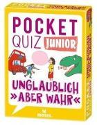 Cover-Bild zu Pocket Quiz junior Unglaublich, aber wahr von von Kessel, Carola
