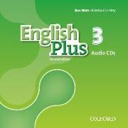 Cover-Bild zu English Plus: Level 3: Class Audio CDs von Wetz, Ben