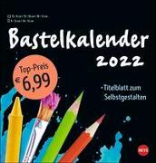 Cover-Bild zu Bastelkalender schwarz mittel 2022 von Heye (Hrsg.)