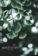 Cover-Bild zu Mareike Böhmer: pure & simple Kalender 2022 von Böhmer, Mareike