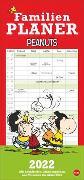 Cover-Bild zu Peanuts Familienplaner Kalender 2022 von Heye (Hrsg.)