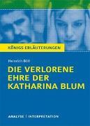 Cover-Bild zu Böll, Heinrich: Die verlorene Ehre der Katharina Blum von Heinrich Böll