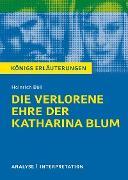Cover-Bild zu Böll, Heinrich: Die verlorene Ehre der Katharina Blum. Königs Erläuterungen (eBook)