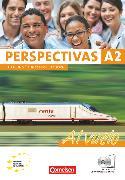 Cover-Bild zu Perspectivas - Al vuelo, A2, Kurs- und Arbeitsbuch mit Lösungsheft, Inkl. CDs mit sämtlichen Hörtexten und Vokabeltaschenbuch von Amann-Marín, Sara