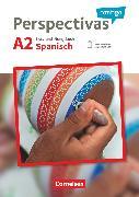 Cover-Bild zu Perspectivas contigo, Spanisch für Erwachsene, A2, Kurs- und Übungsbuch mit Vokabeltaschenbuch, Mit PagePlayer-App inkl. Audios, Videos und Übungen sowie Lösungen als Download von Bürsgens, Gloria