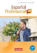 Cover-Bild zu Español Profesional ¡hoy!, A1-A2+, Kurspaket, Bestehend aus Kursbuch, Audio-CD, Video-DVD und Lösungsheft von Bürsgens, Gloria