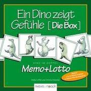 Cover-Bild zu Ein Dino zeigt Gefühle - Die Box von Löffel, Heike