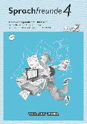 Cover-Bild zu Sprachfreunde, Sprechen - Schreiben - Spielen, Ausgabe Nord/Süd - Neubearbeitung 2015, 4. Schuljahr, Handreichungen für den Unterricht mit CD-ROM von Haugwitz, Solveig
