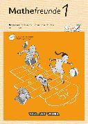 Cover-Bild zu Mathefreunde, Ausgabe Nord/Süd 2015, 1. Schuljahr, Kopiervorlagen mit CD-ROM von Fischer, Karin