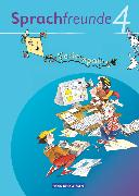 Cover-Bild zu Sprachfreunde, Sprechen - Schreiben - Spielen, Ausgabe Nord/Süd - 2010 und Neubearbeitungen 2015, 4. Schuljahr, Ferienspaß mit Freunden, Arbeitsheft, Beilage mit farbigen Klebestickern von Lemke, Liane