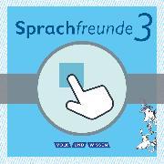 Cover-Bild zu Sprachfreunde, Sprechen - Schreiben - Spielen, Ausgabe Nord/Süd - Neubearbeitung 2015, 3. Schuljahr, Interaktive Übungen als Ergänzung zum Arbeitsheft, Auf CD-ROM