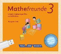 Cover-Bild zu Mathefreunde, Ausgabe Süd 2015, 3. Schuljahr, Unterrichtsmanager Plus auf USB-Stick, Inkl. E-Book als Zugabe und Begleitmaterialien