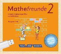 Cover-Bild zu Mathefreunde, Ausgabe Süd 2015, 2. Schuljahr, Unterrichtsmanager Plus auf USB-Stick, Inkl. E-Book als Zugabe und Begleitmaterialien
