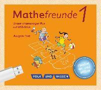 Cover-Bild zu Mathefreunde, Ausgabe Süd 2015, 1. Schuljahr, Unterrichtsmanager Plus auf USB-Stick, Inkl. E-Book als Zugabe und Begleitmaterialien