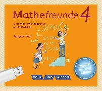 Cover-Bild zu Mathefreunde, Ausgabe Süd 2015, 4. Schuljahr, Unterrichtsmanager Plus auf USB-Stick, Inkl. E-Book als Zugabe und Begleitmaterialien