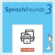 Cover-Bild zu Sprachfreunde, Sprechen - Schreiben - Spielen, Ausgabe Süd (Sachsen, Sachsen-Anhalt, Thüringen) - Neubearbeitung 2015, 3. Schuljahr, Lernentwicklungsheft, 10 Stück im Paket