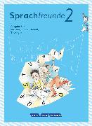 Cover-Bild zu Sprachfreunde, Sprechen - Schreiben - Spielen, Ausgabe Süd (Sachsen, Sachsen-Anhalt, Thüringen) - Neubearbeitung 2015, 2. Schuljahr, Sprachbuch mit Grammatiktafel und Lernentwicklungsheft von Knutas, Kathrin