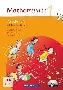 Cover-Bild zu Mathefreunde, Ausgabe Nord 2010 (Berlin, Brandenburg, Mecklenburg-Vorpommern, Sachsen-Anhalt), 1. Schuljahr, Arbeitsheft mit CD-ROM von Elies, Catrin