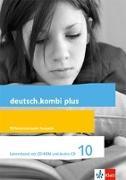 Cover-Bild zu deutsch.kombi plus 10. Differenzierende Allgemeine Ausgabe. Lehrerband mit CD-ROM und Audio-CD Klasse 10