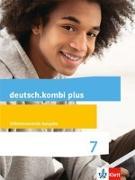 Cover-Bild zu deutsch.kombi plus. Schülerbuch 7. Schuljahr. Allgemeine Ausgabe