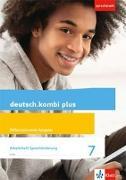Cover-Bild zu deutsch.kombi plus. Arbeitsheft Sprachförderung 7. Schuljahr. Differenzierende Allgemeine Ausgabe ab 2015