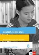 Cover-Bild zu deutsch.kombi plus 8. Kopiervorlagen mit CD-ROM. Inklusionsmaterial Klasse 8. Differenzierende Allgemeine Ausgabe