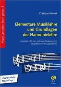 Cover-Bild zu Nowak, Christian (Komponist): Elementare Musiklehre und Grundlagen der Harmonielehre