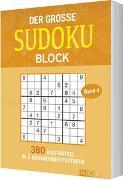 Cover-Bild zu Der große Sudokublock Band 4