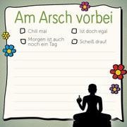 Cover-Bild zu Am Arsch vorbei - Klebezettel