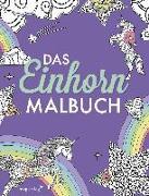 Cover-Bild zu Das Einhorn-Malbuch: Ausmalbuch für Kinder und Erwachsene