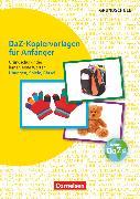 Cover-Bild zu Deutsch lernen mit Fotokarten - Grundschule, DaZ-Kopiervorlagen für Anfänger - Grundschulkinder lernen erste Wörter, Übungen, Spiele, Rätsel, Kopiervorlagen