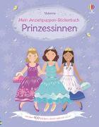 Cover-Bild zu Watt, Fiona: Mein Anziehpuppen-Stickerbuch: Prinzessinnen