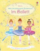 Cover-Bild zu Watt, Fiona: Mein Anziehpuppen-Stickerbuch: Im Ballett