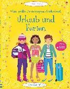 Cover-Bild zu Watt, Fiona: Mein großes Anziehpuppen-Stickerbuch: Urlaub und Ferien