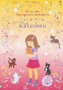 Cover-Bild zu Watt, Fiona: Mein erstes Anziehpuppen-Stickerbuch: Kitti, das kleine Kätzchen