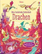 Cover-Bild zu Watt, Fiona: Mein funkelndes Stickerbuch: Drachen