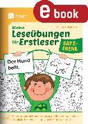 Cover-Bild zu Kleine Leseübungen für Erstleser - Satzebene (eBook) von Neubauer, Annette
