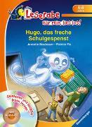 Cover-Bild zu Hugo, das freche Schulgespenst - Leserabe ab 1. Klasse - Erstlesebuch für Kinder ab 6 Jahren von Neubauer, Annette
