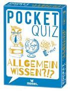 Cover-Bild zu Pocket Quiz Allgemeinwissen von Vogel, Elke