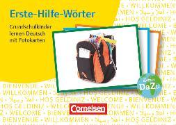Cover-Bild zu Deutsch lernen mit Fotokarten - Grundschule, Erste-Hilfe-Wörter, 250 Bildkarten