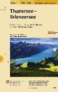 Cover-Bild zu Thunersee - Brienzersee. 1:33'333