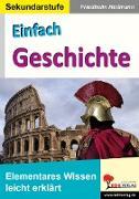 Cover-Bild zu Einfach Geschichte (eBook) von Heitmann, Friedhelm